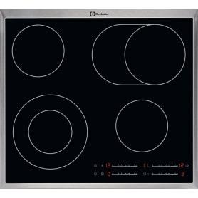 Варочная панель электрическая Electrolux CLE6452KX, цвет чёрный