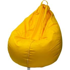 Кресло-груша 120x70x60 см полиэстер желтый