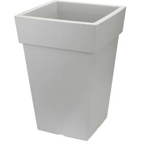 Кашпо Idea Тубус 20.5x44x30 см v14 л пластик смоки