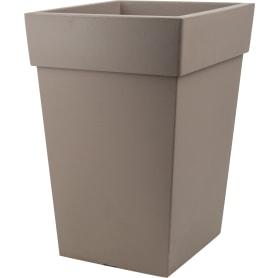 Кашпо Idea Тубус 20.5x44x30 см v14 л пластик французский серый