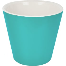 Горшок цветочный Ingreen London ø16 h14.5 см v1.6 л пластик голубой жасмин