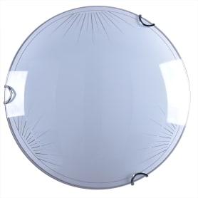 Светильник настенно-потолочный светодиодный Клевер, 6 м², цвет белый