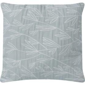 Подушка Fern 45x45 см цвет серо-голубой