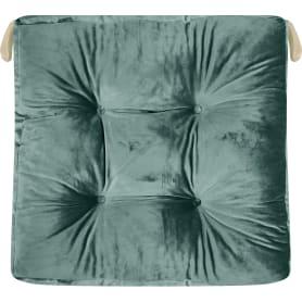 Подушка для стула Jimena 40x40 см цвет зелёный