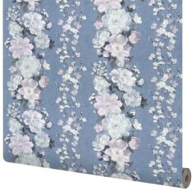 Обои флизелиновые Wall Decor Клэр синие 1.06 м 75073-65