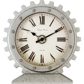 Часы настольные Atmosphera Vintage 20.3х21.7 см, цвет серый