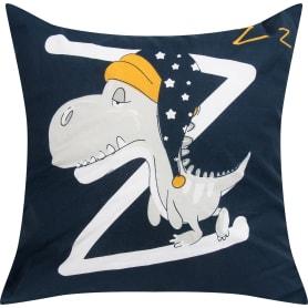 Подушка «Сонный динозаврик» 40x40 см цвет синий