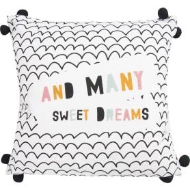Подушка «Сладкие сны» 40x40 см цвет белый
