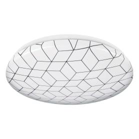 Светильник настенно-потолочный светодиодный Mosaic, 8 м², холодный белый свет, цвет белый