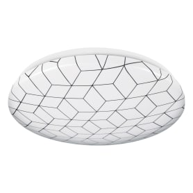 Светильник настенно-потолочный светодиодный Mosaic, 20 м², холодный белый свет, цвет белый
