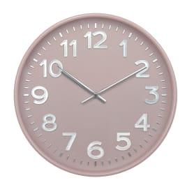 Часы настенные Troykatime ø30 см цвет розовый