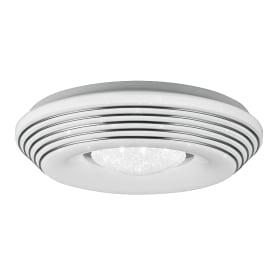 Светильник настенно-потолочный светодиодный Lumin Arte Sirius-I с пультом управления, 20 м², изменение цвета RGB, цвет белый