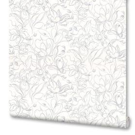 Обои флизелиновые OVK Design Адель белые 1.06 м 10418-01