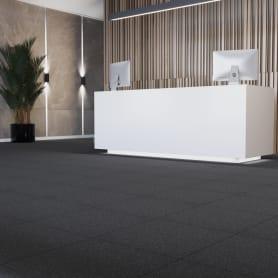 Керамогранит Estima ST10 30x30 см 1.53 м² цвет чёрный