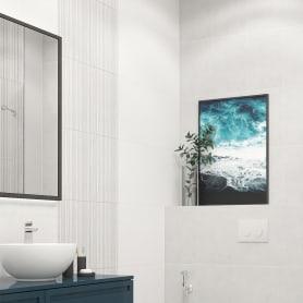 Плитка настенная Керамин Ассам 7 40x27.5 см 1.65 м² цвет белый