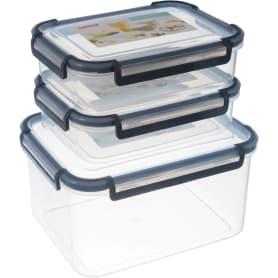 Набор контейнеров для пищевых продуктов 0.75/0.75/2.75 л
