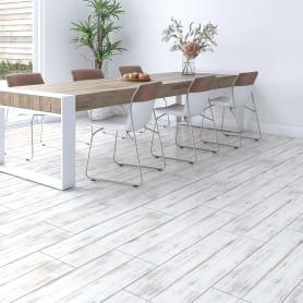 Керамогранит Lb Ceramics Клэпборд 19.9x60.3 см 0.96 м² цвет белый