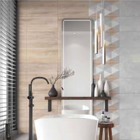 Керамогранит LB Ceramics «Софт Вуд Геометрия» 30x60 см 1.44 м² цвет бежевый