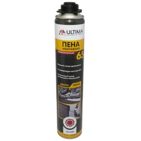 Пена монтажная пистолетная Ultima Pro 65 лето 820 мл