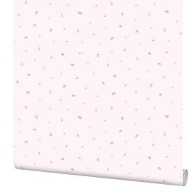 Обои флизелиновые Артекс Зайки розовые 1.06 м 10491-03