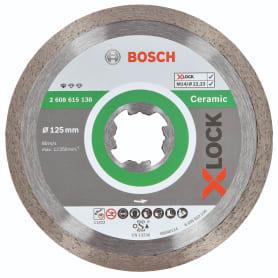 Диск алмазный по керамике Bosch X-lock Ceramic, 125x22.23 мм