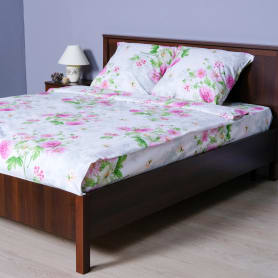 Комплект постельного белья «Катрин» полутораспальный, перкаль