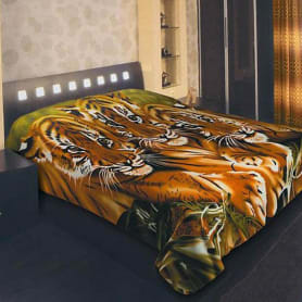 Плед Guten Morgen «Тигрята» 200х150 см, флис