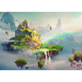 Фотообои Мир Детский сюжет Летающий город MIR-10014-V4 380х270 см