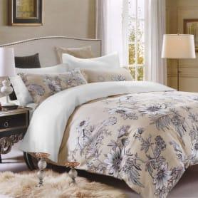 Комплект постельного белья BONNE JOURNEE «Dahlias» евро, сатин
