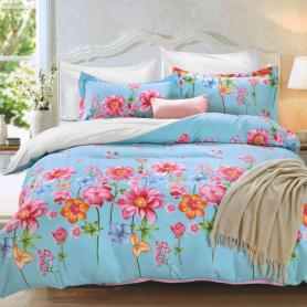 Комплект постельного белья Bonn Zhurni   евро, сатин, 50x70, 70x70 см