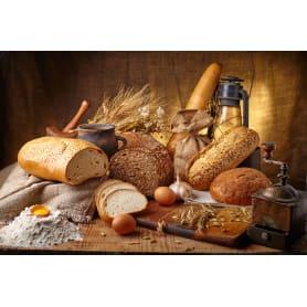 Доска разделочная Пластмаркет Хлеб, 17.5х29 см