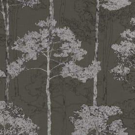 Обои флизелиновые Rasch Hyde Park коричневые 0.53 м 410839