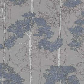 Обои флизелиновые Rasch Hyde Park серые 0.53 м 410846