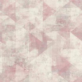 Обои флизелиновые Rasch Hyde Park розовые 0.53 м 411508