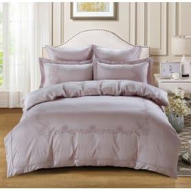 Комплект постельного белья Karna Valencia 5125/4 евро