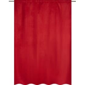 Штора на ленте со скрытыми петлями «Нью Манчестер», 200х280 см, цвет красный