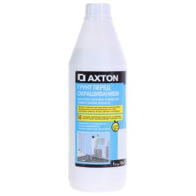 Грунт для сухих и влажных помещений Axton, 1 л