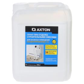 Грунт-концентрат для отделки строительными смесями, для влажных помещений, 5 л