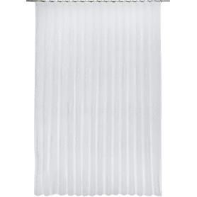 Тюль на ленте «Инсбрук», 300x280 см, цвет белый