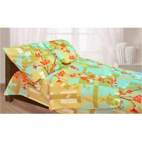 Комплект постельного белья полутораспальный FIORELLY  Цветочная фантазия, бязь
