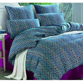 Комплект постельного белья двуспальный Sorrento Deluxe Бьенвеню, сатин