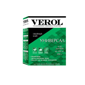 Обойный клей Verol Универсал 45 м² 200 гр