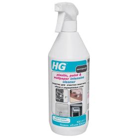 Средство для очистки пластика, обоев и окрашенных стен HG 0.5 л