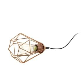 Лампа настольная Byron 1хE27х60 Вт, цвет медь