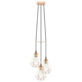 Подвесной светильник Byron 3хE27Х60 Вт, диаметр 35.5 см, металл, цвет медь