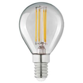 Лампа светодиодная Lexman E14 4,5 Вт 470 Лм 4000 K теплый белый свет, прозрачная колба