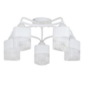 Люстра Inspire «Patt», 5 ламп, цвет матовый белый