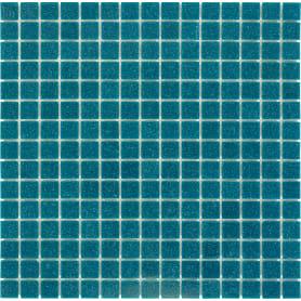 Мозаика 32.7х32.7 см 4 мм стекломасса цвет зеленый