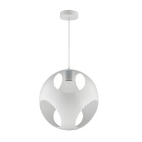 Светильник подвесной Inspire «Kochi», 1 лампа, 3 м², цвет белый