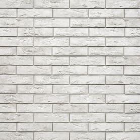 Камень искусственный Monte Alba Лофт Брик белый 1.04 м²